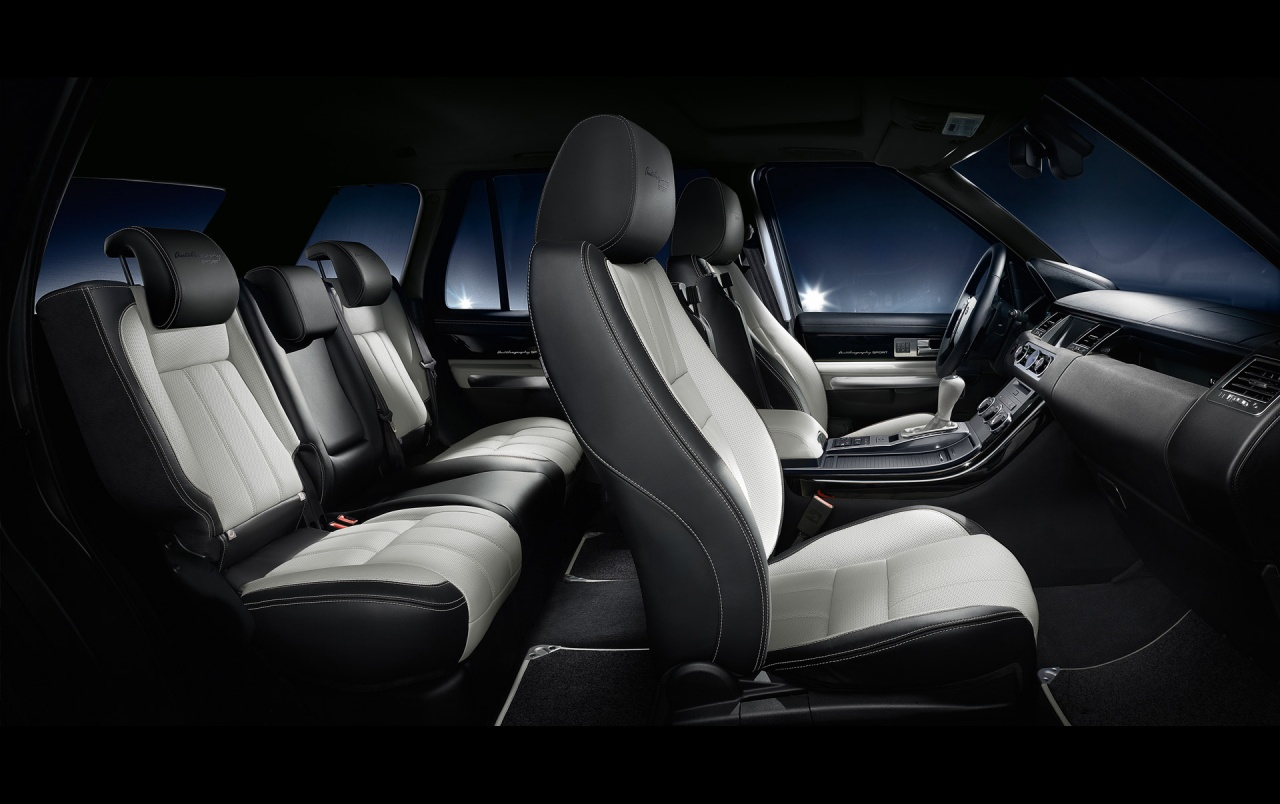 2013 Land Rover Range Sport Interior Wallpapers
