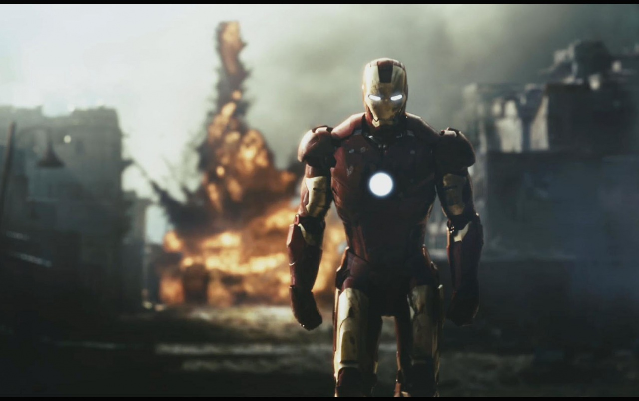 Ironman Explosion wallpapers