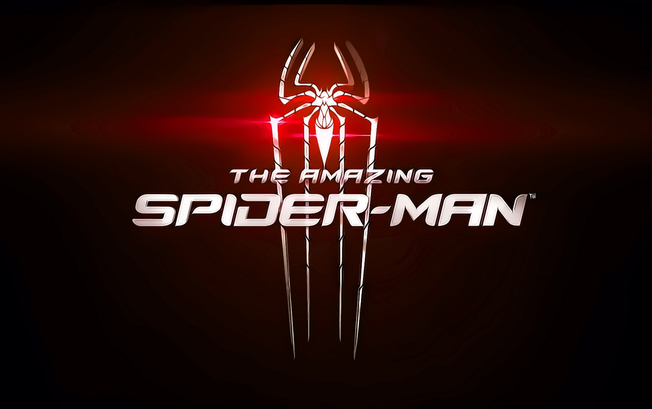 HD The Amazing Spider Man Red Logo Wallpapers