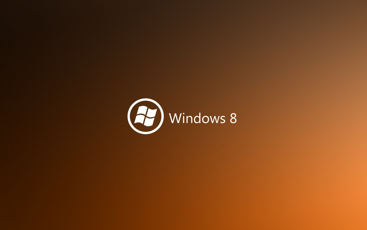 Dark Orange Windows 8 wallpapers