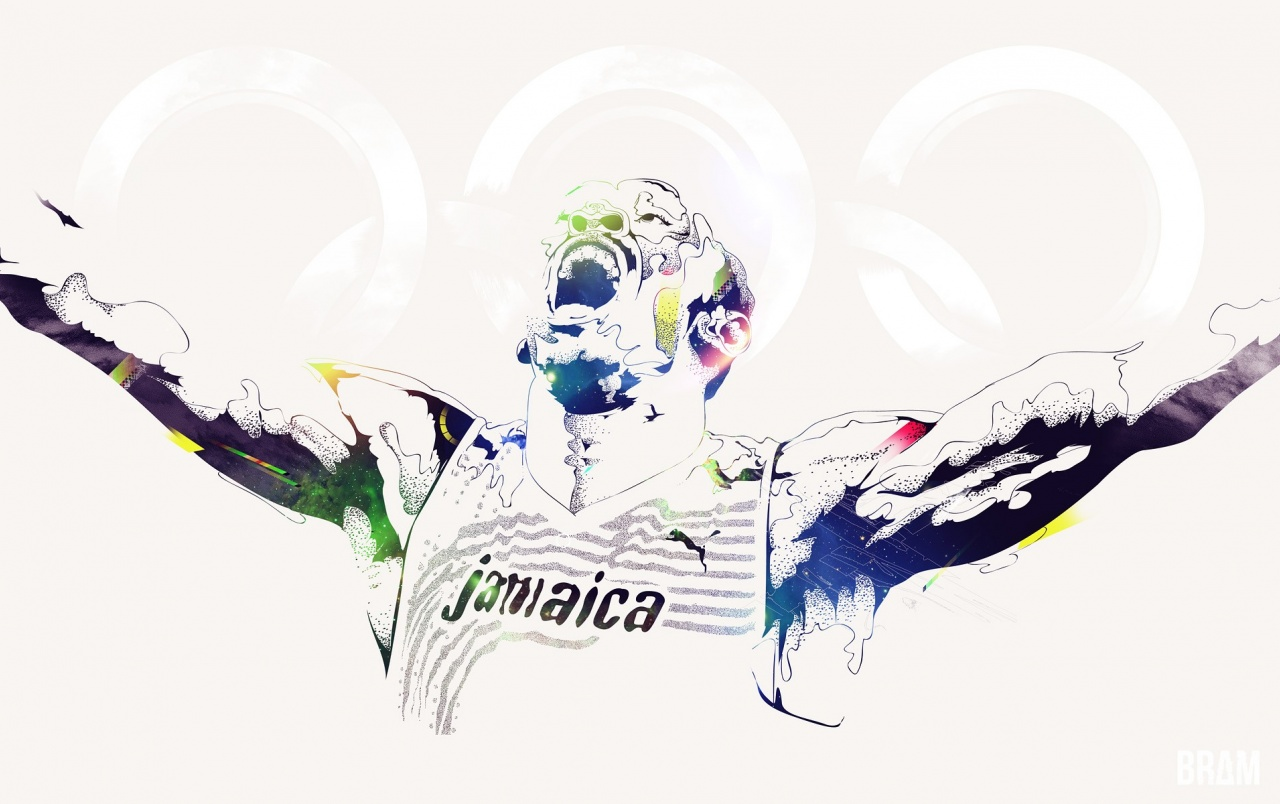 Wide Usain Bolt Olympics 2012 Wallpapers