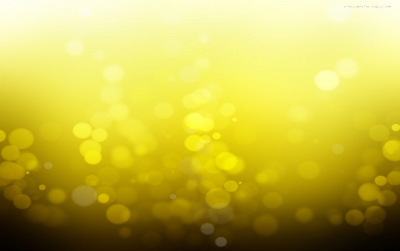Yellow Bokeh wallpapers
