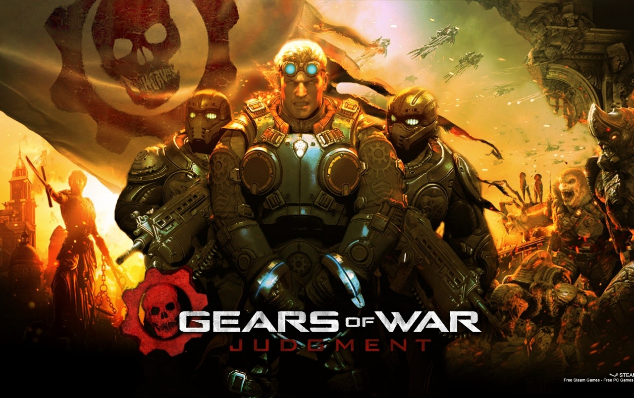 2013 Gears of War Judgment Gam wallpapers