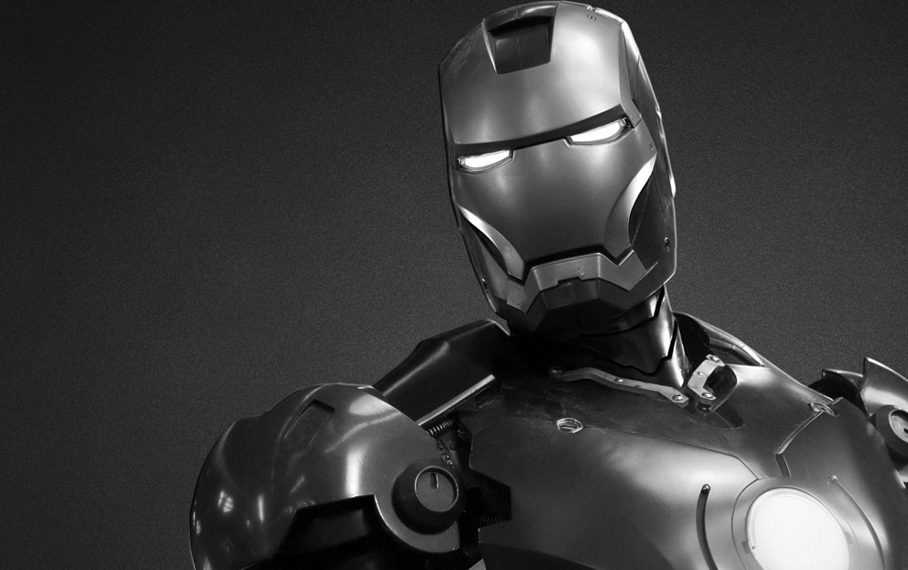 Black and White Iron Man wallpapers