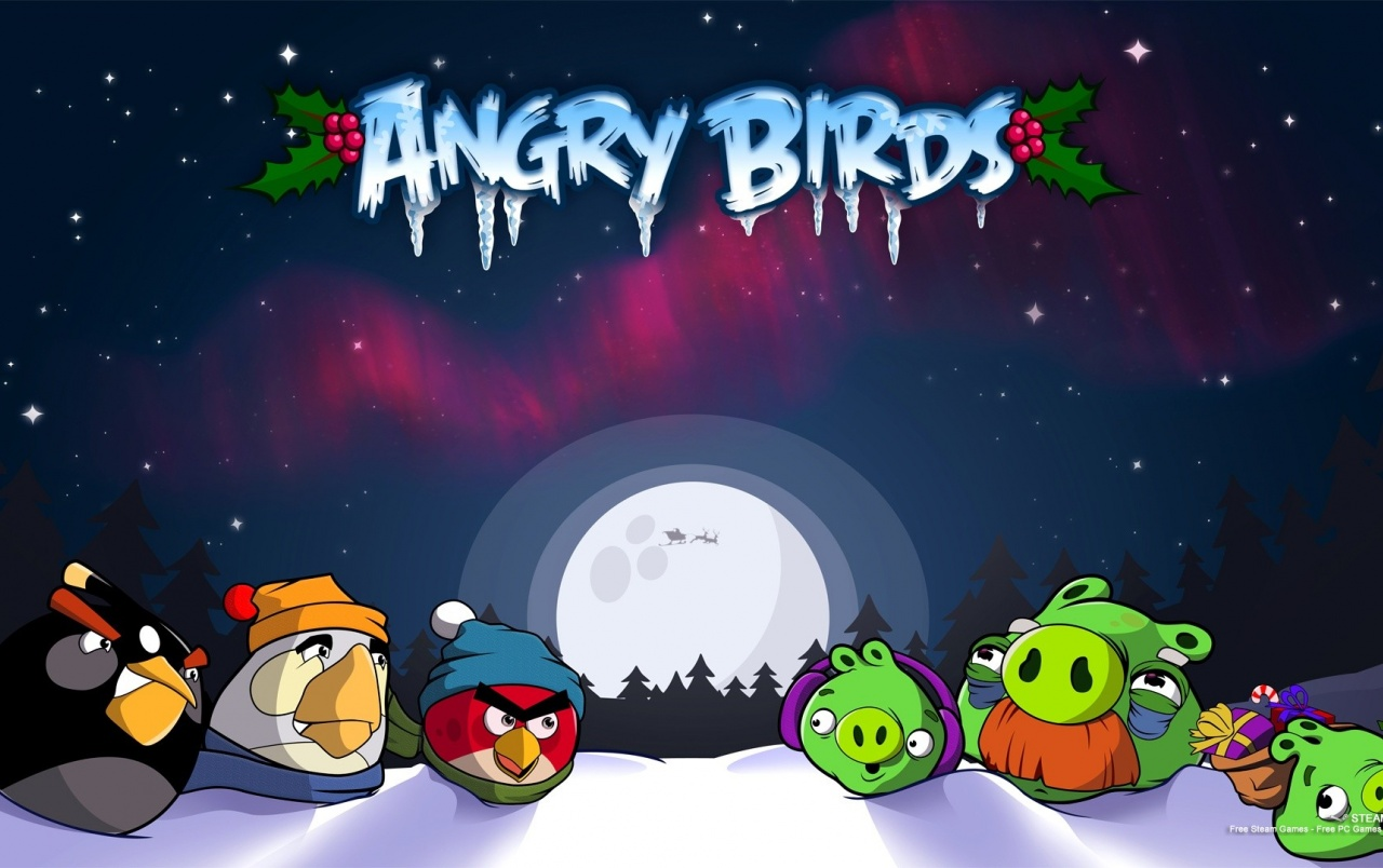 Angry Birds Seasons wallpapers