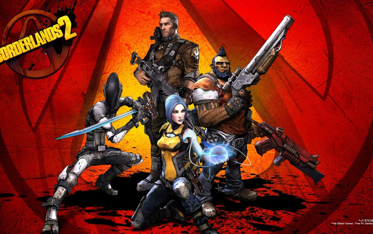 Borderlands 2 Heroes wallpapers