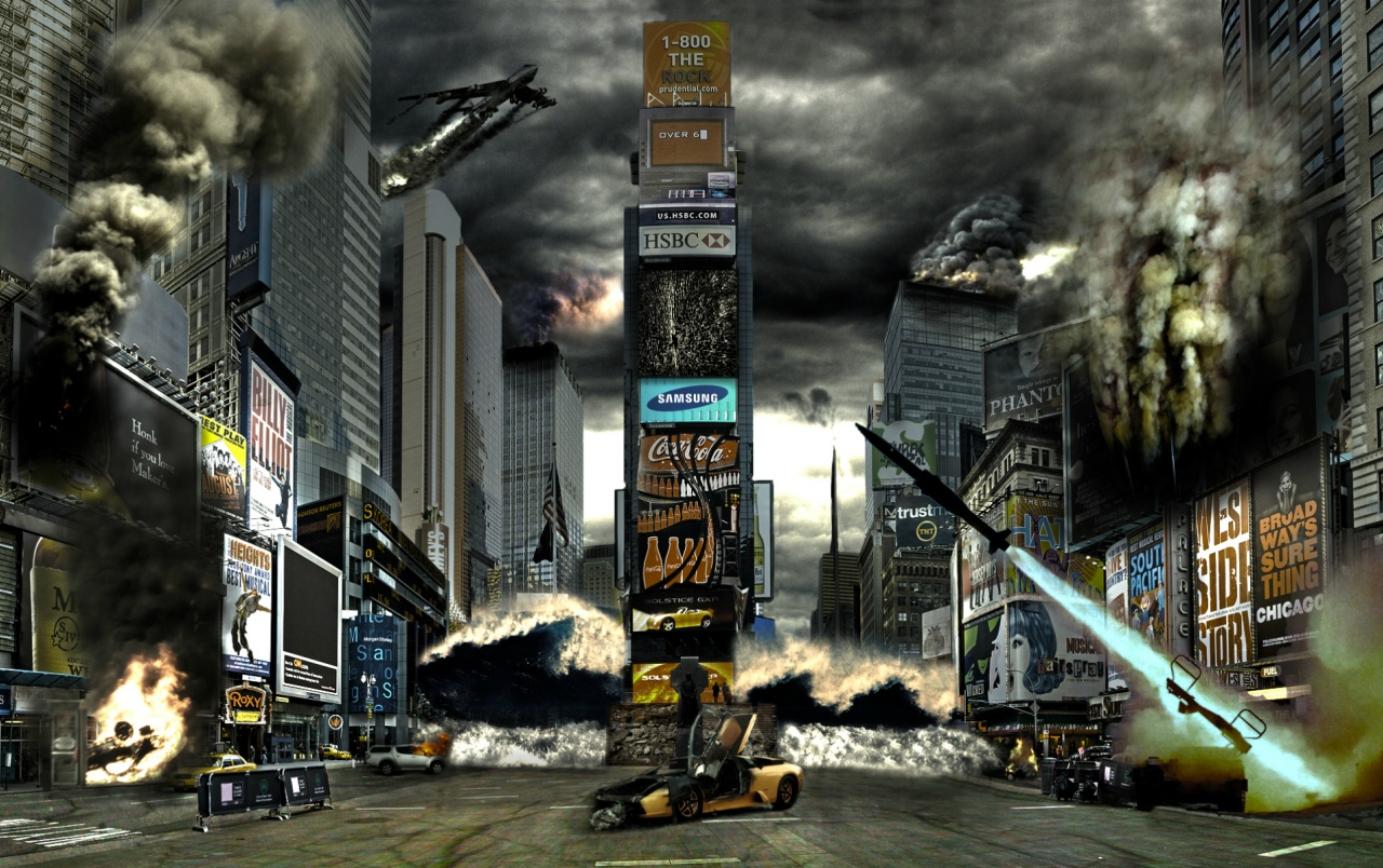 Times Square Disaster wallpapers