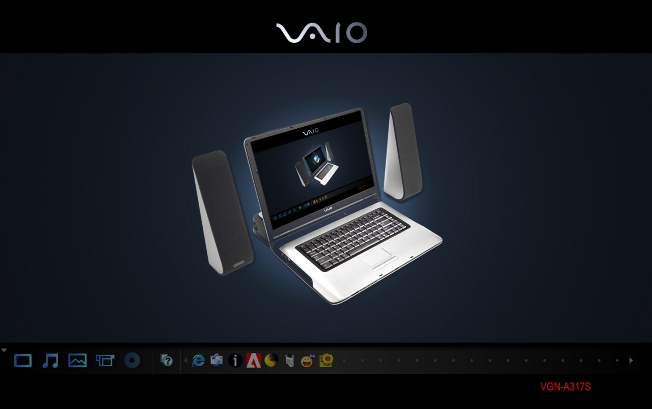 SONY Vaio VGN wallpapers