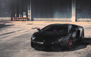 Black Matte Lamborghini Aventador Wallpapers Black Matte