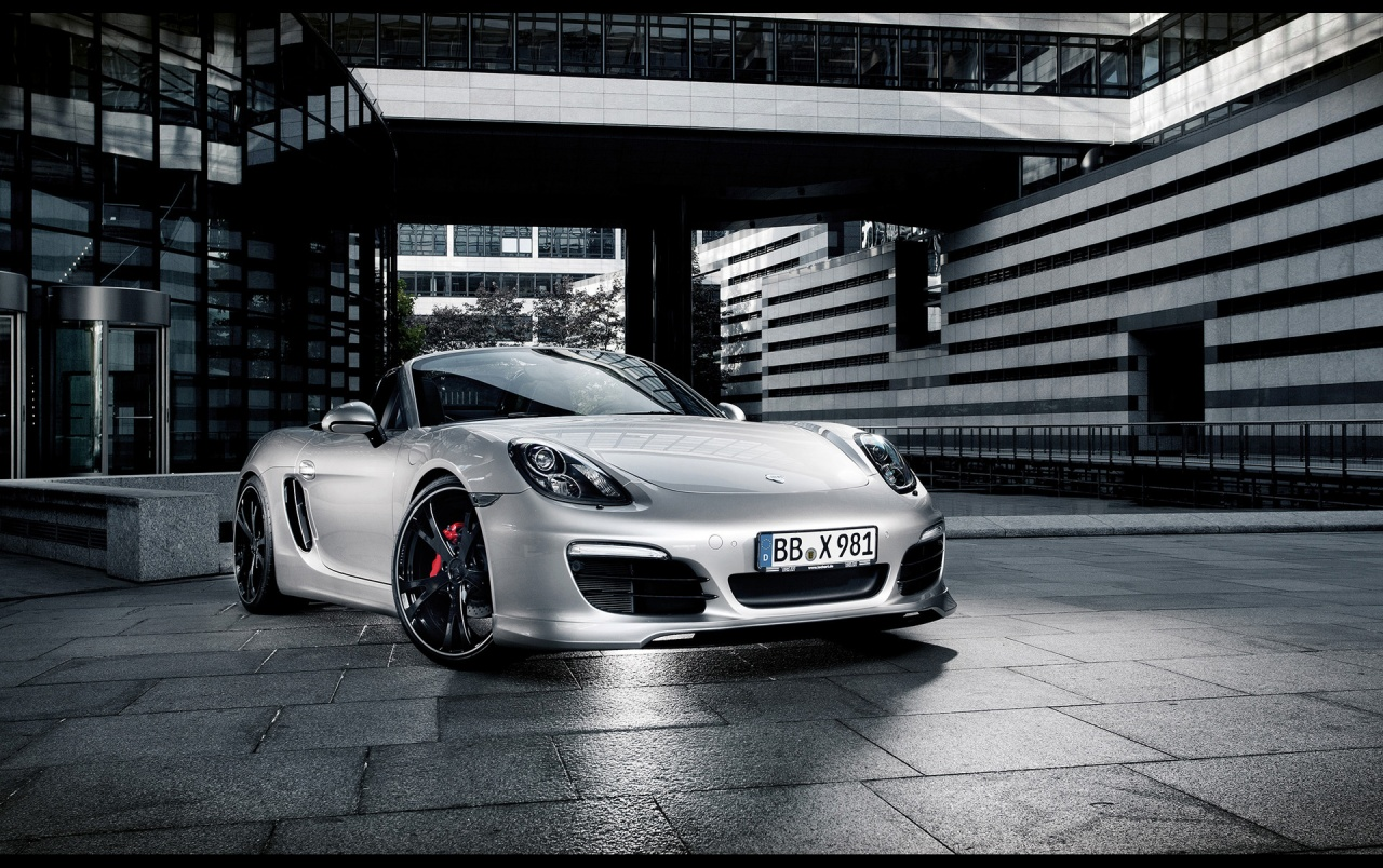 2013 TechArt Porsche Boxster Static vorne Angle wallpapers
