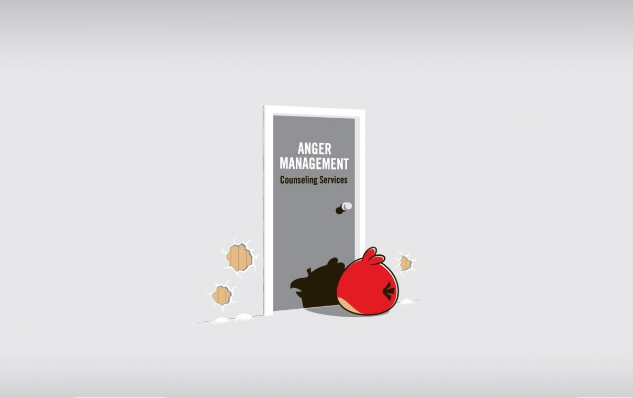 Angry Birds Anger Management wallpapers