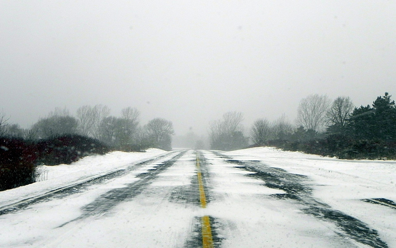 Winter Road Wallpapers And Stock Photos