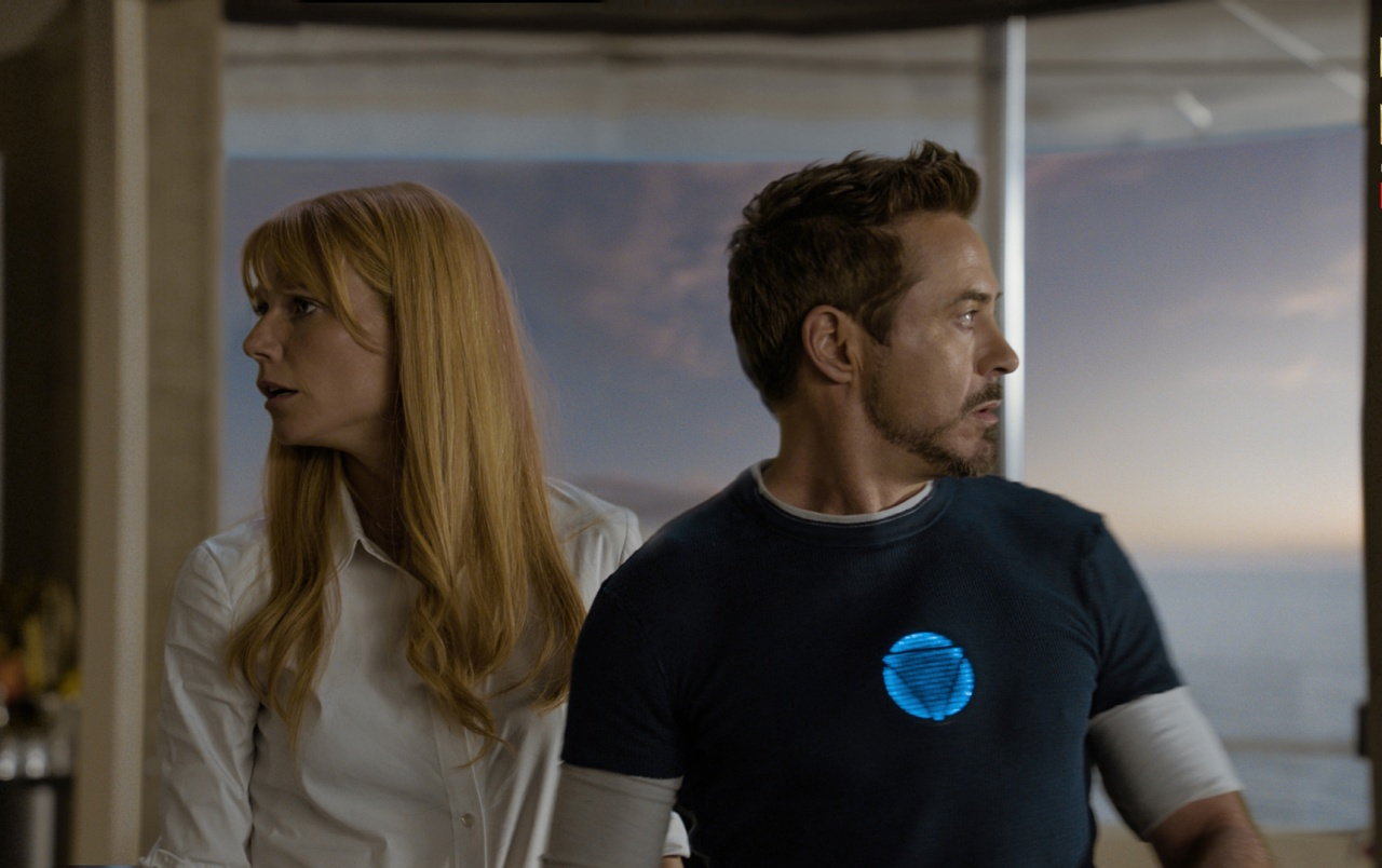 Tony Stark and Pepper Pots wallpapers
