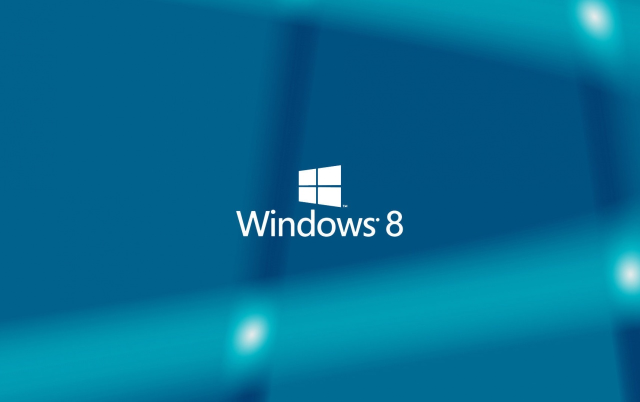 HD Windows 8 Blue Background Wallpapers