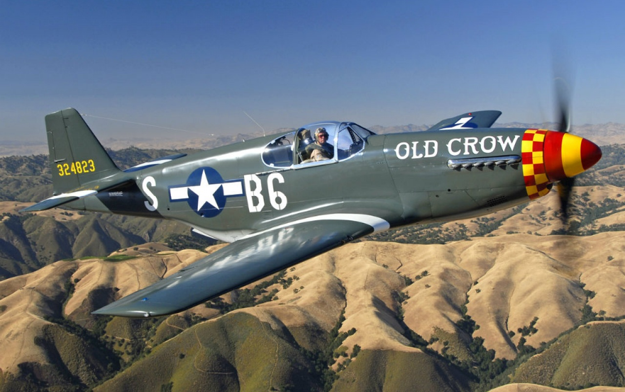 America de Nord P-51B Mustang wallpapers
