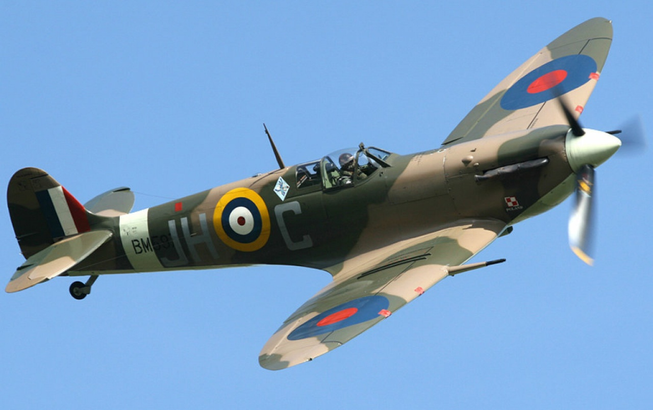 Supermarine Spitfire Mk.Vb wallpapers | Supermarine ...