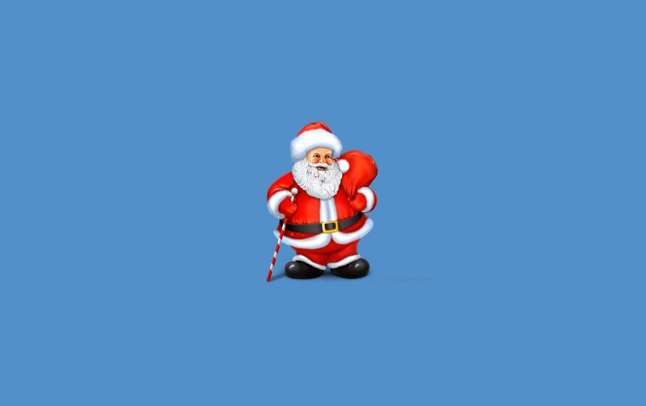2012 Santa Claus Illustration wallpapers