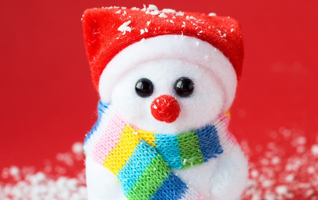 Snowman Christmas Ornament wallpapers