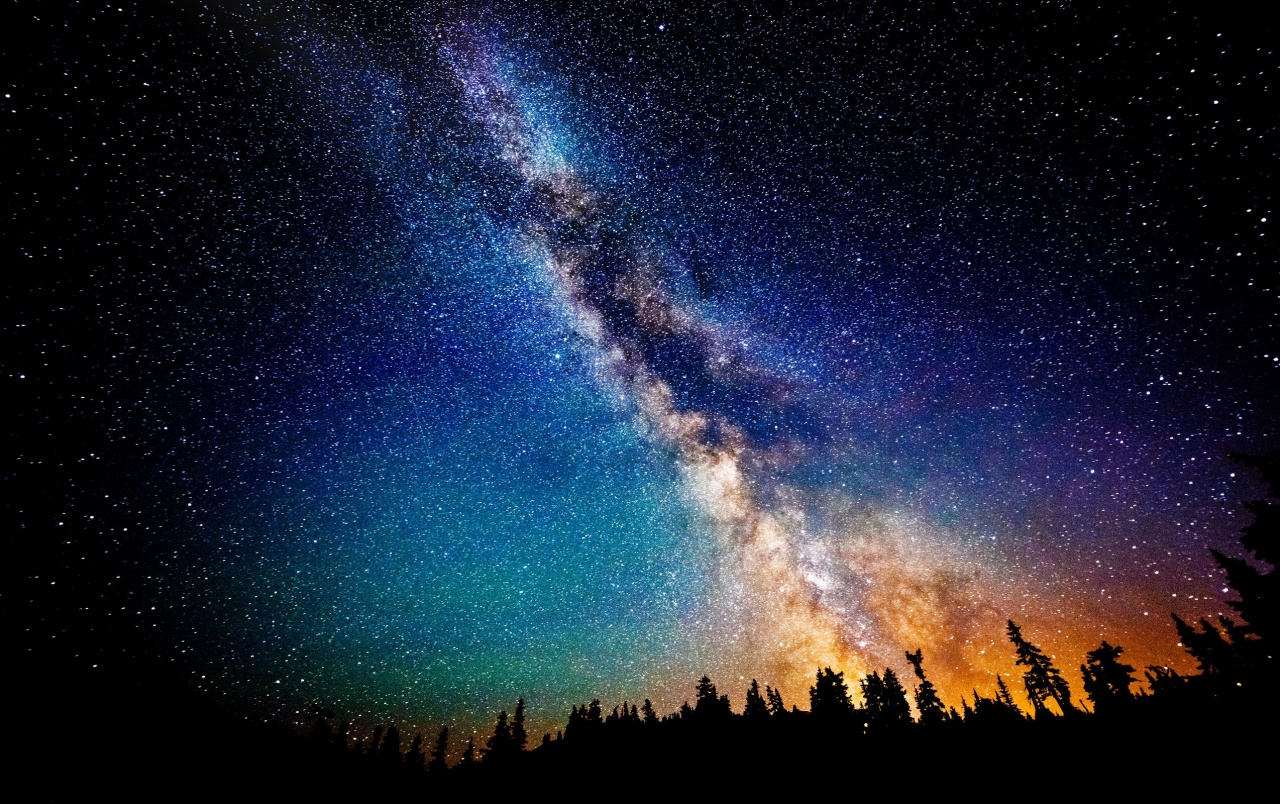 The Milky Way at Night wallpapers