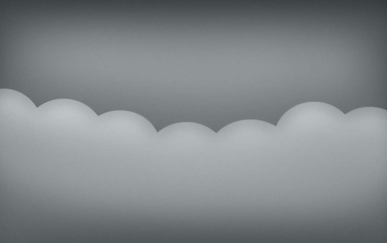 Minimalistic Gray Clouds wallpapers