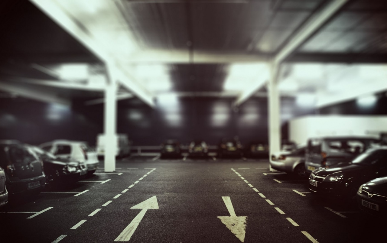 Parking Lot at Night wallpapers