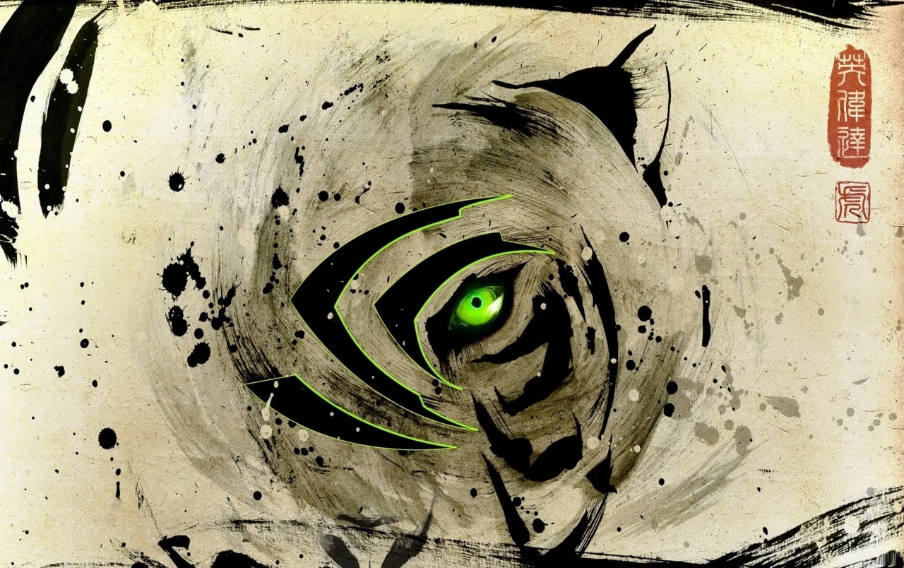 Eye of the Tiger Nvidia wallpapers