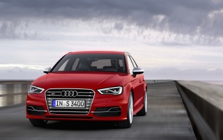 2013 Audi S3 Sportback Motion Front Angle wallpapers