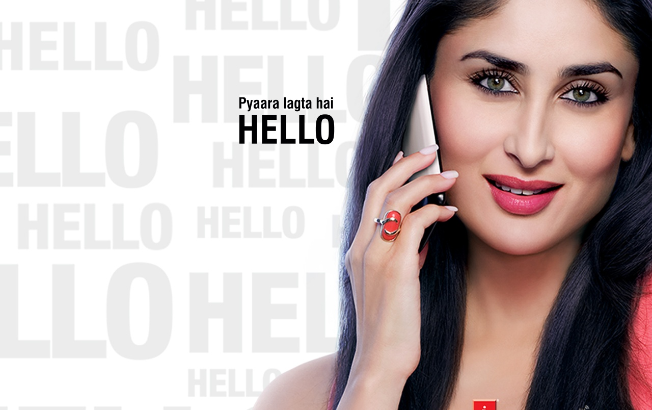 HELLO iBall Mobiles - Kareena wallpapers