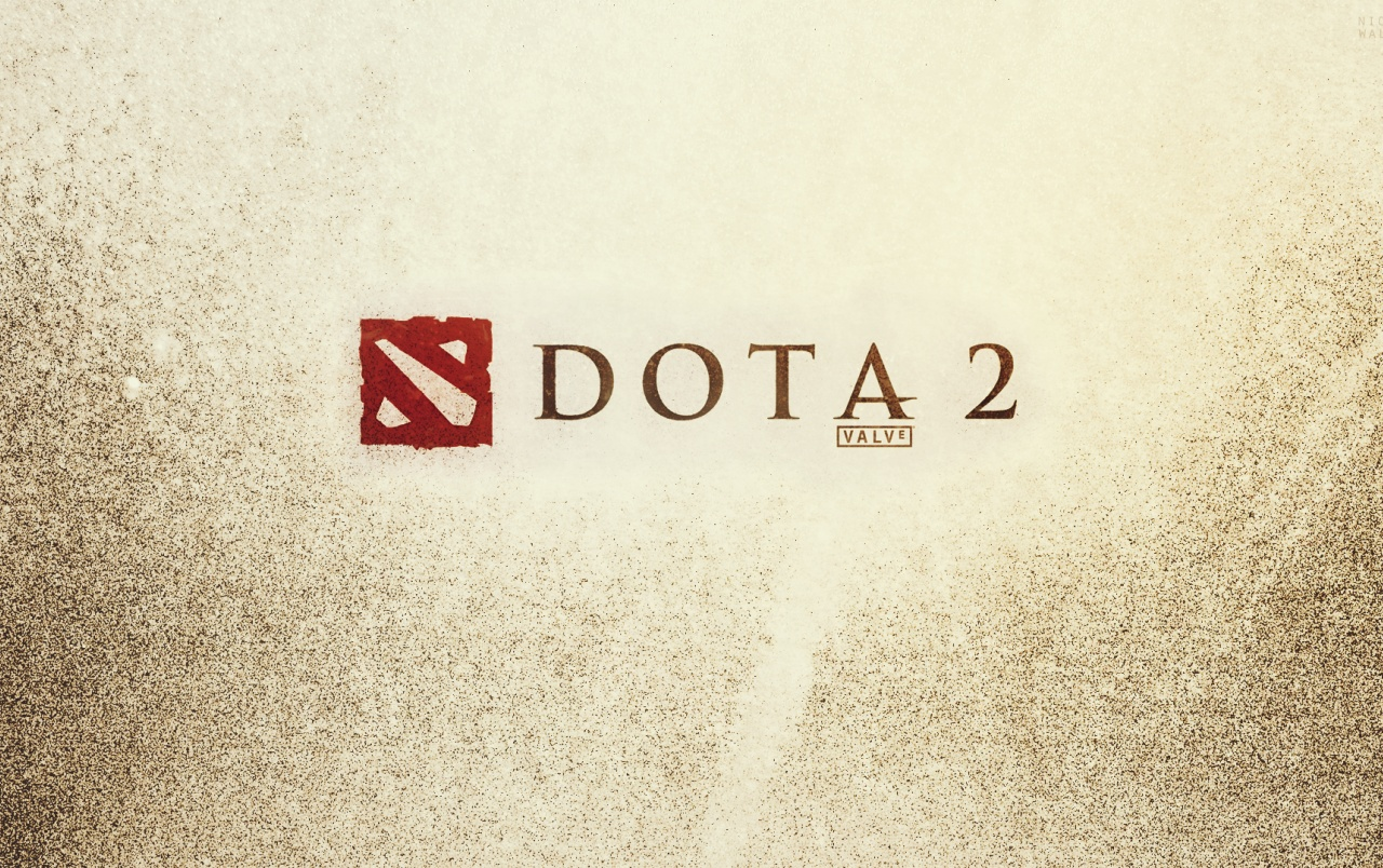 HD DOTA 2 Logo Wallpapers