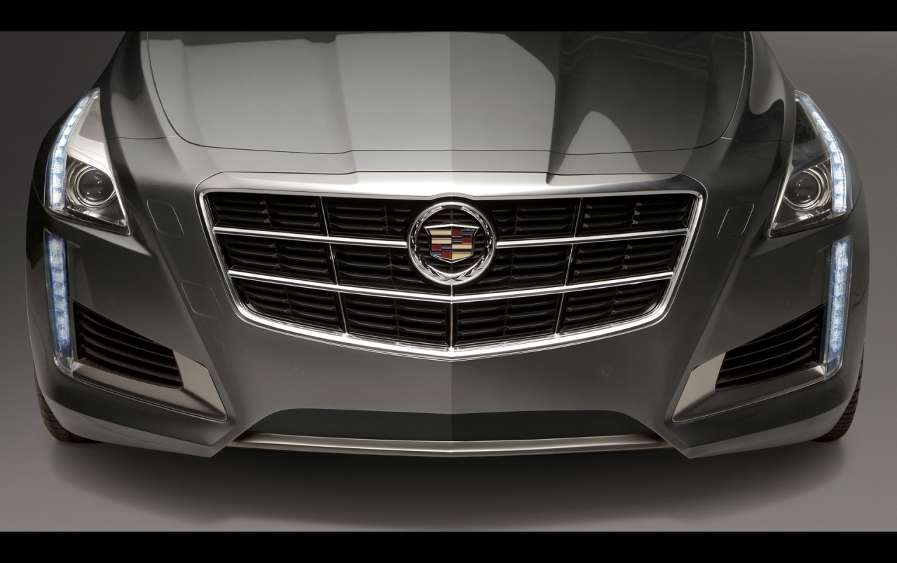 2014 cadillac cts front section wallpapers | 2014 cadillac cts front