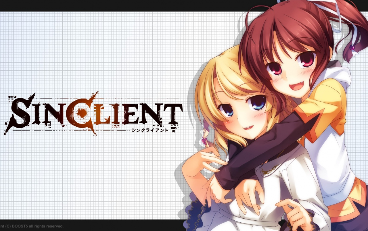 SinClient Anime Girls wallpapers