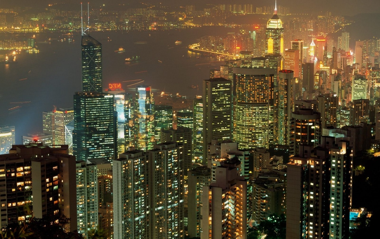 Hong Kong lights wallpapers