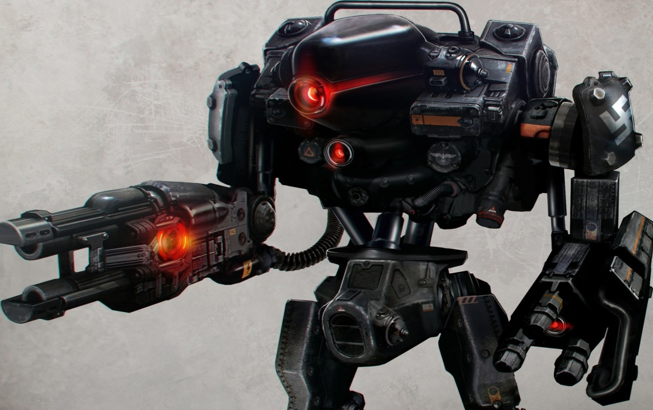 Wolfenstein The New Order Robot Wallpapers Wolfenstein The New