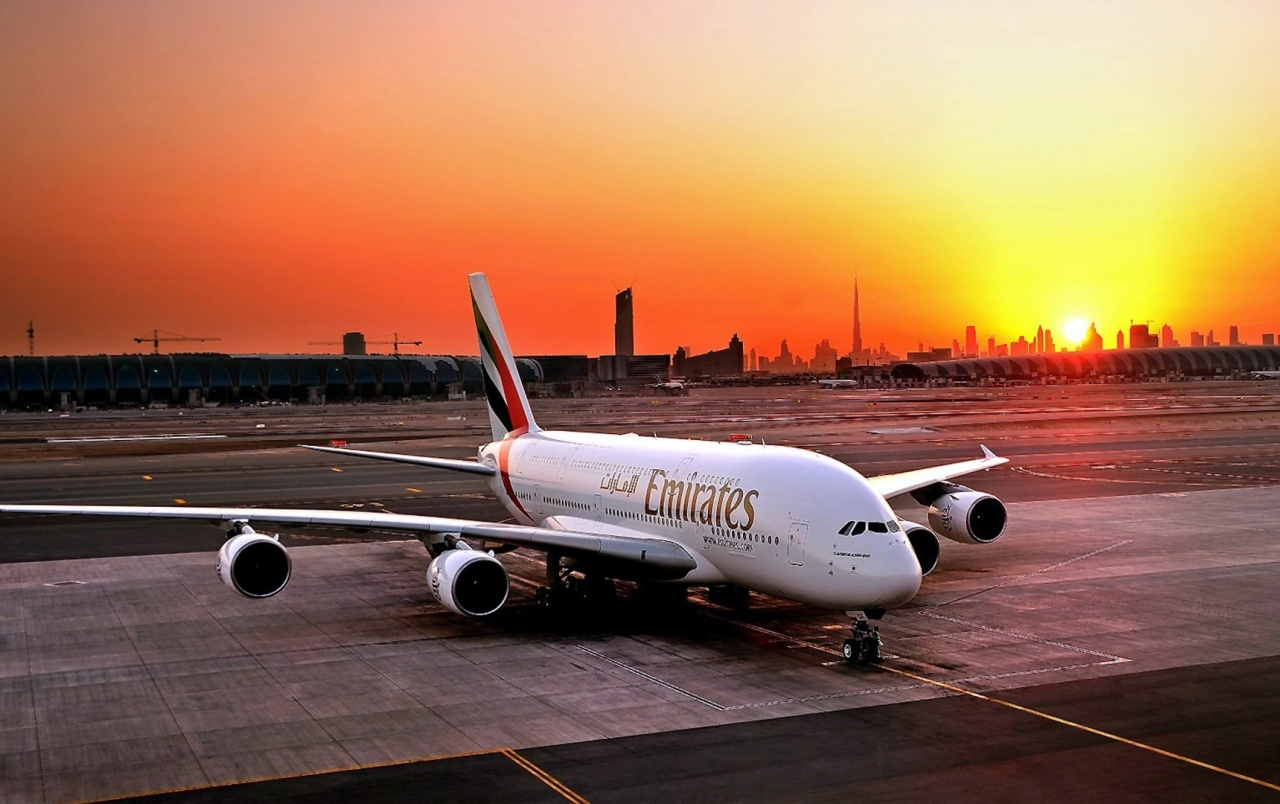 Fly Emirates Airbus A380-800 wallpapers