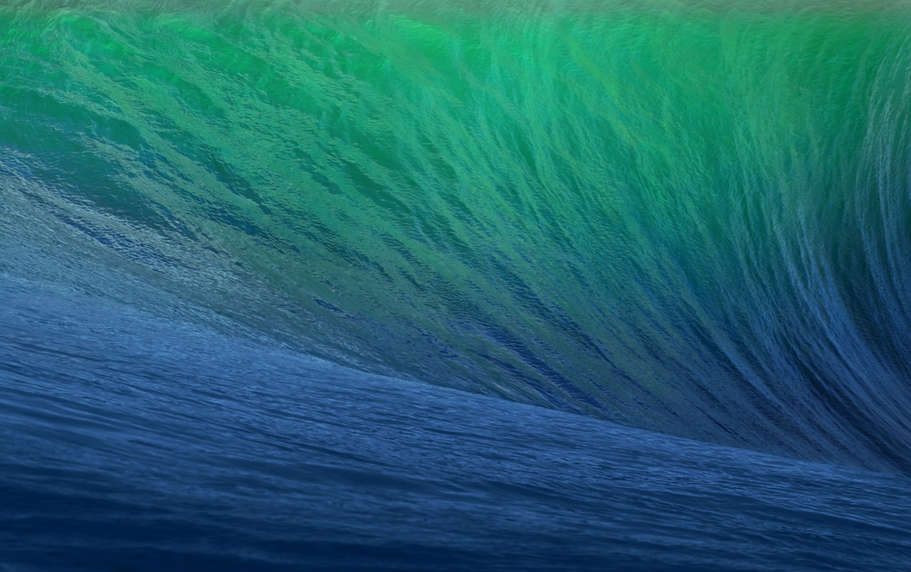 OS X Mavericks Wave wallpapers