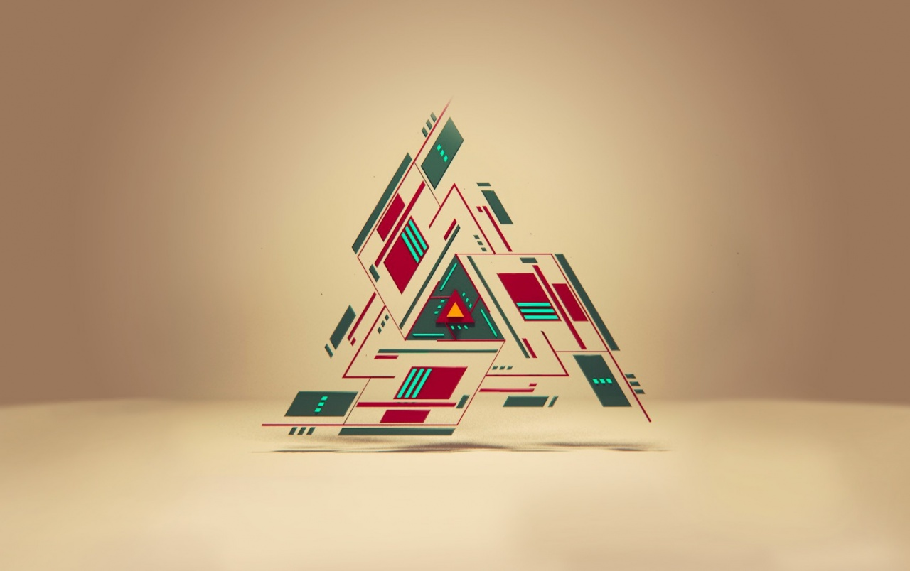 Abstract Triangle wallpapers
