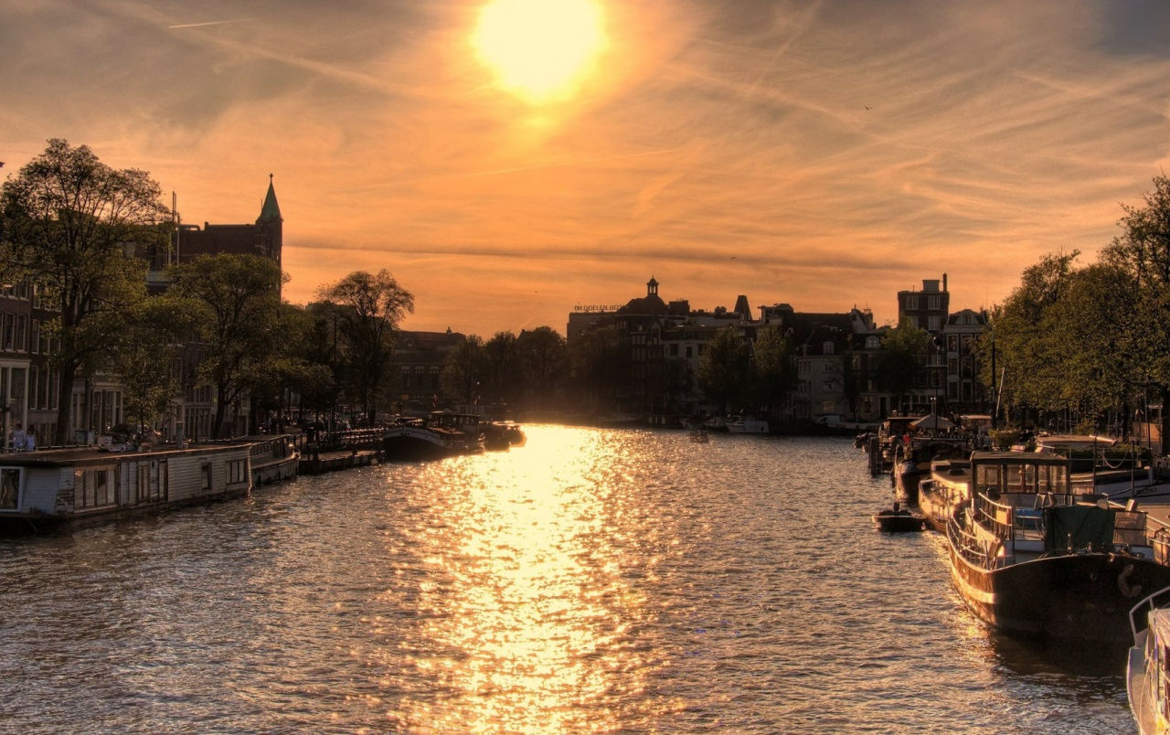 Amsterdam At Sunset wallpapers