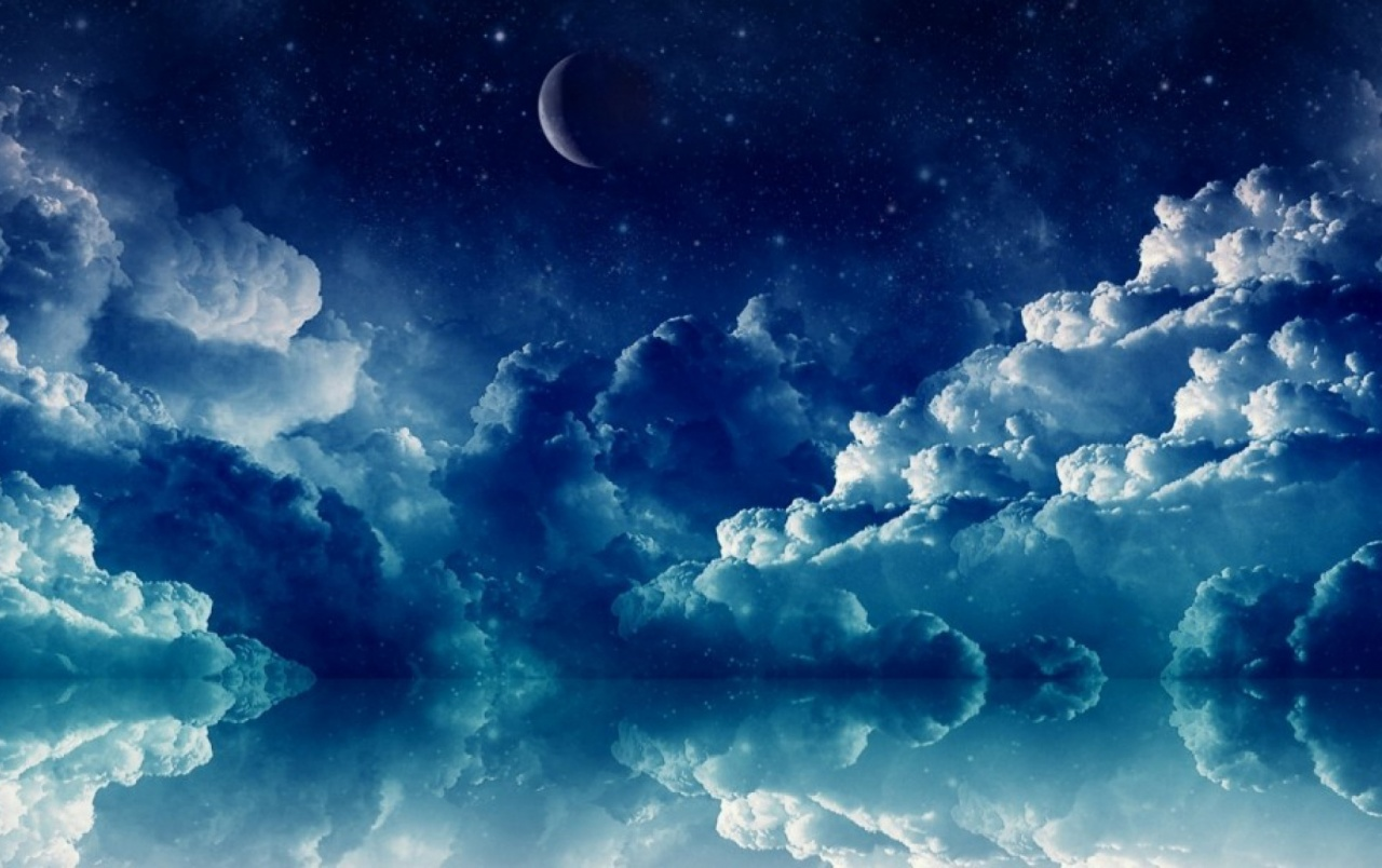 OriginalHD Pretty Blue Night Wallpapers