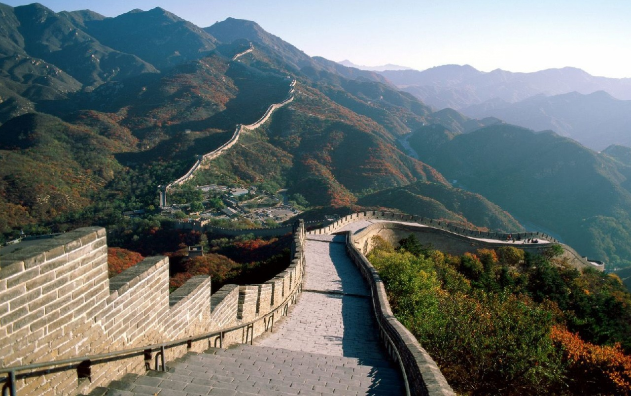 Great Wall Of China Two wallpapers