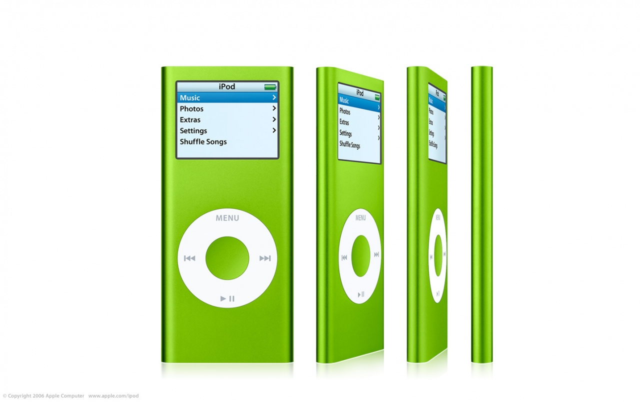 iPod Nano green wallpapers | iPod Nano green stock photos