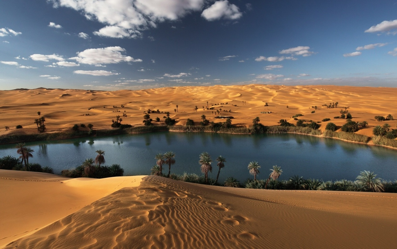 Oasis Libyan Desert Wallpapers Oasis Libyan Desert Stock Photos