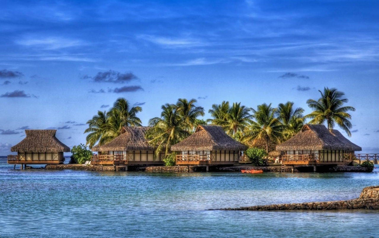 tropical houses wallpapers | tropical houses stock photos