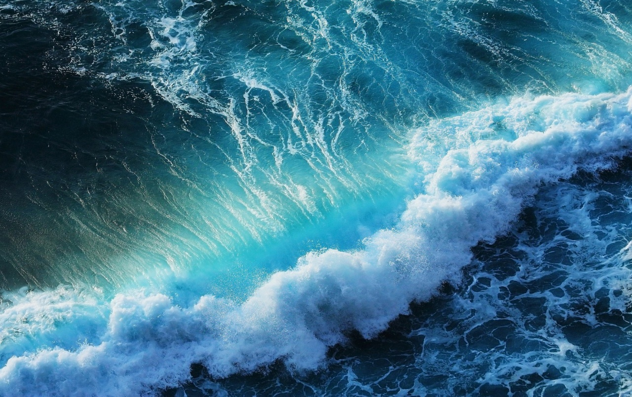 Splashing Ocean Waves wallpapers