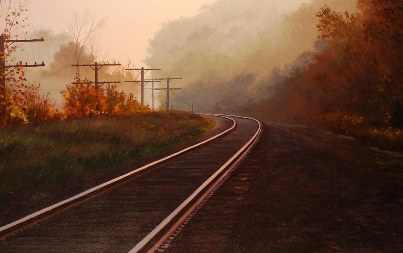 Autumn & Rail Road wallpapers