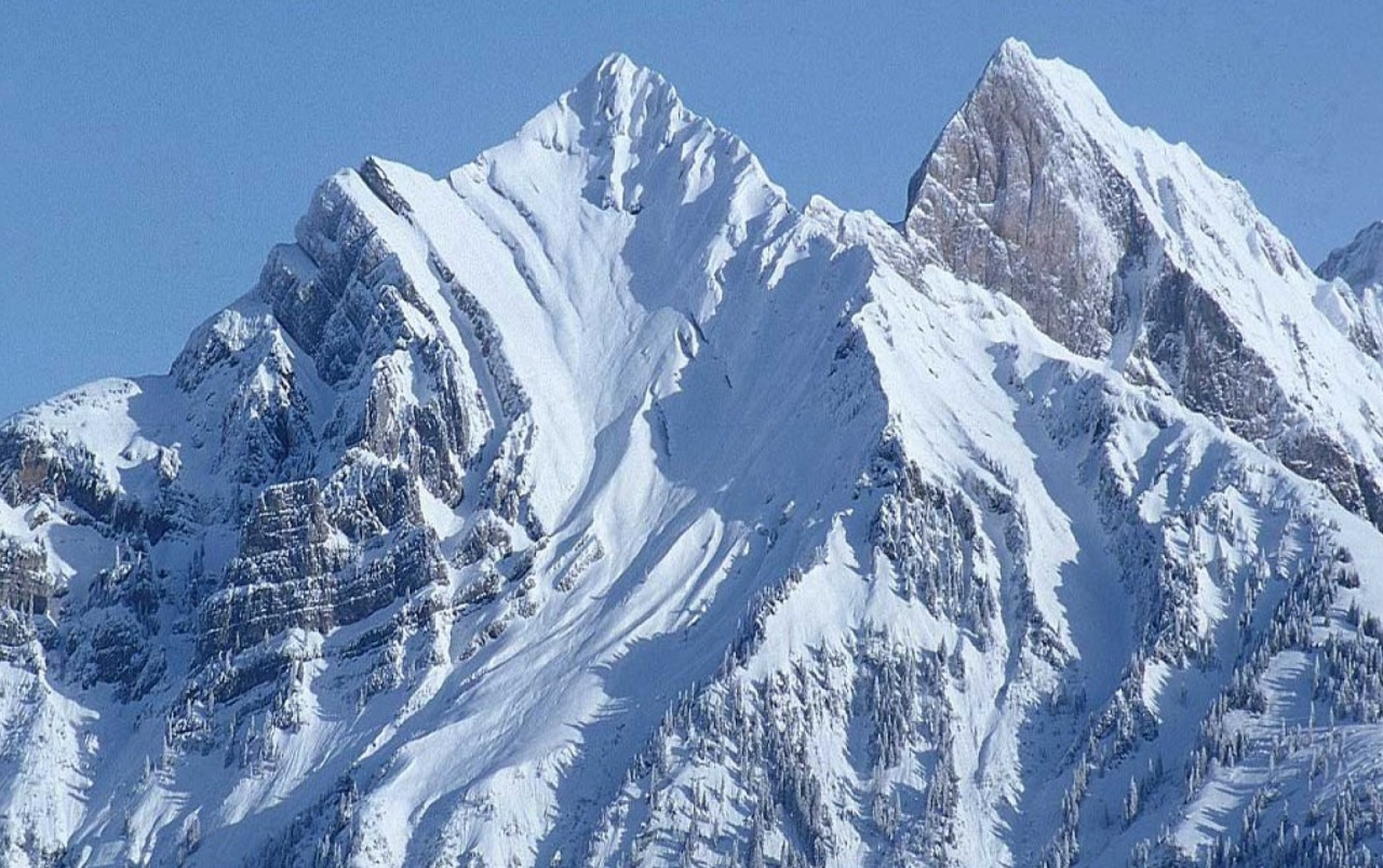 Snowy Background With Mountain: Big Beautiful Snow Mountain Wallpapers