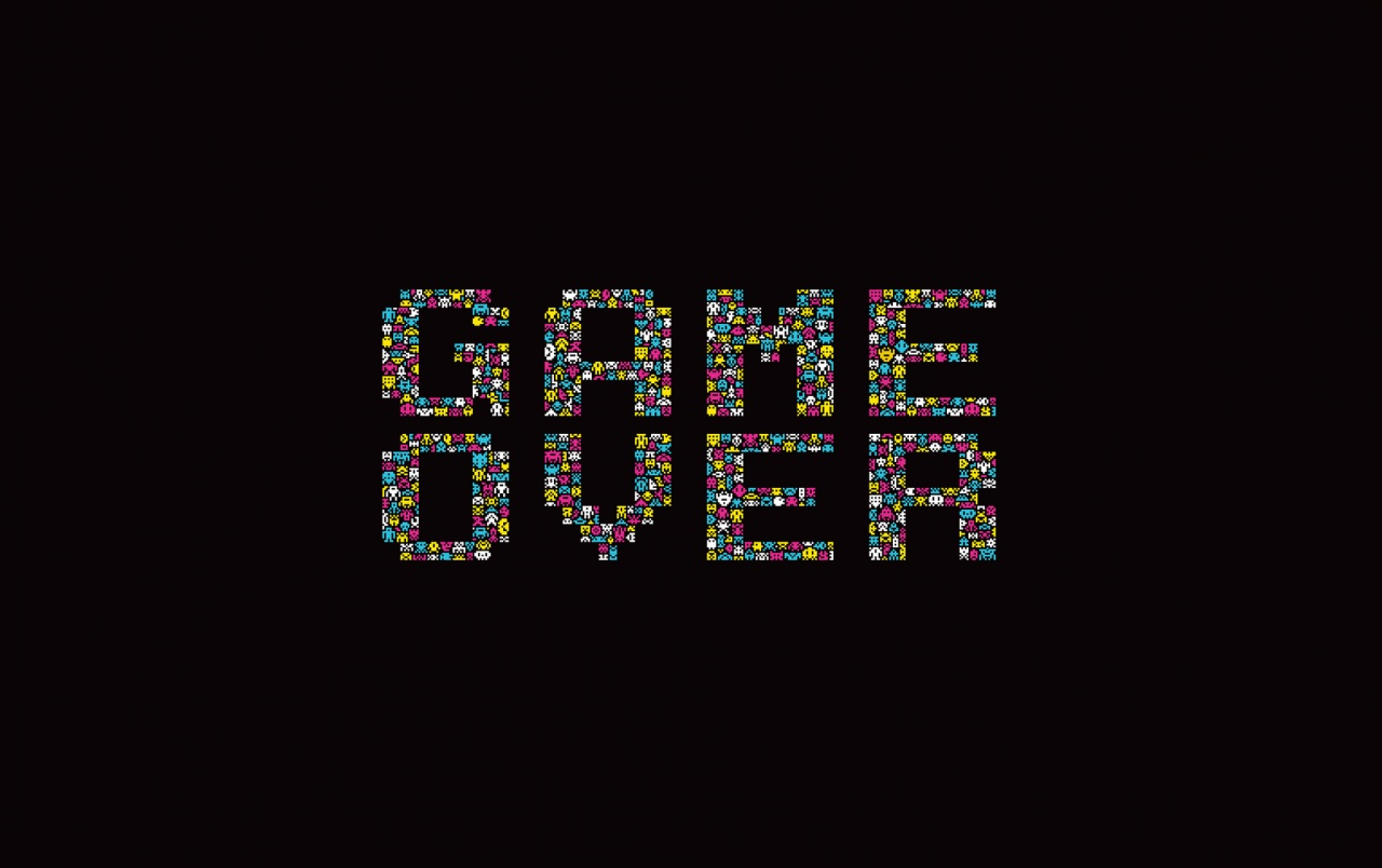 Game Over Poster Wallpapers Game Over Poster Stock Photos