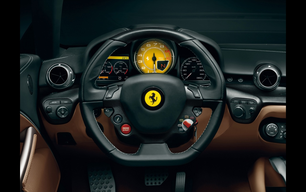Ferrari F12 Berlinetta Interior wallpapers | Ferrari F12 ...
