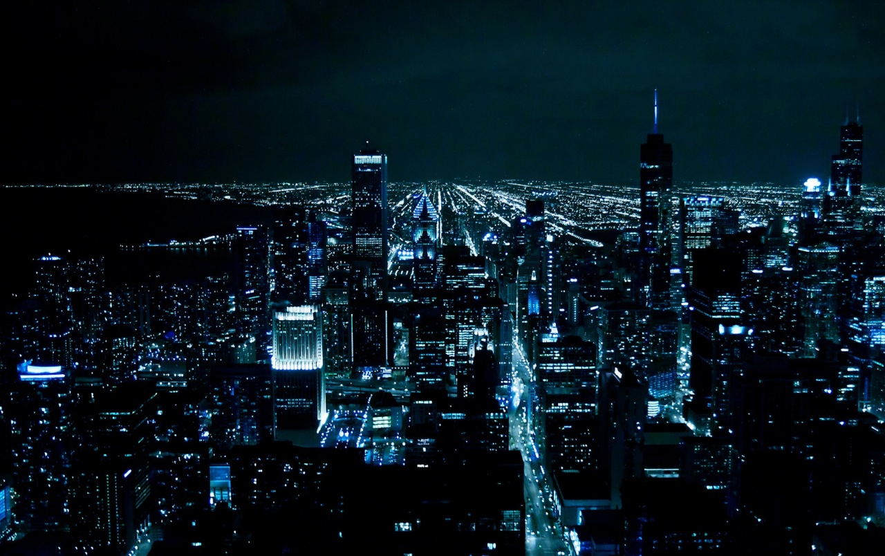 Chicago bei Nacht wallpapers