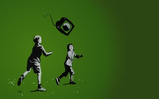Children playing wallpapers