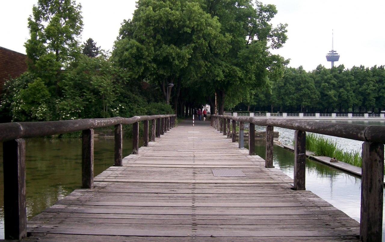 wooden bridge wallpaper - photo #25